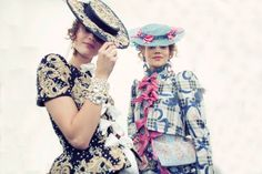 Meadham Kirchhoff Spring 2013 RTW - Candids - Collections - Vogue