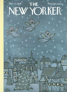 The New Yorker - Saturday, December 27, 1958 - Issue # 1767 - Vol. 34 - N° 45 - Cover by : William Steig