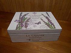 Krabičky - levanduľová krabička - 6131398_