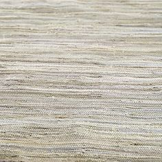 Recycled Handwoven Ribbon Rug (Grey) | The Land of Nod