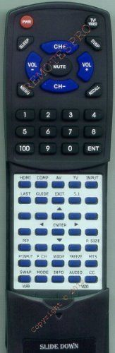 VIZIO Replacement Remote Control for 098003059003, SV320XVT, SV370XVT, SV420XVT1A by Redi-Remote. $29.86. This is a custom built replacement remote made by Redi Remote for the VIZIO remote control number VUR9. *This is NOT an original  remote control. It is a custom replacement remote made by Redi-Remote*  This remote control is specifically designed to be compatible with the following models of VIZIO units:   098003059003, SV320XVT, SV370XVT, SV420XVT1A, SV470XVT1A, VO4...