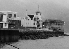 The old castle walls at Southsea