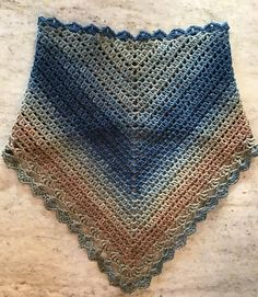 Ravelry: Crocheted Summer Bandana Cowl pattern by ThatLoganChick Designs