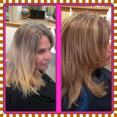 Before and after lowlights for grey coverage and new growth blending in greys in brown hair yahoo search results pmusecretfo Choice Image