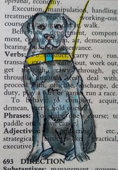 Guide Dog Dictionary Word Art £6.00