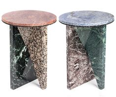 Affordances stools by Jonathan Zawada