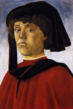 1469 - Portrait of a Young Man - Sandro Botticelli