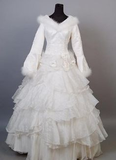 The snow queen wedding dress