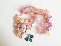 Princess Necklace with Kewpie charm CKNB001