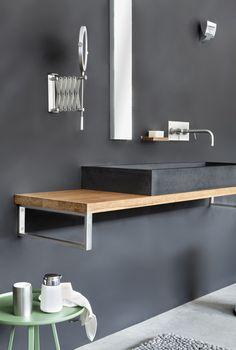 LucaWood houten wastafelmeubel Kolibri - Product in beeld ...
