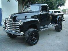Black Wheels, Black Chevy