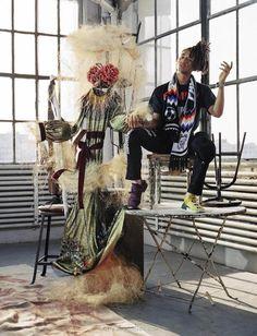 Jaden Smith para Vogue Italia por Bruce Weber