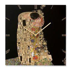 Klimt The Kiss Collage Hardwood Oak Fan  Light Pull