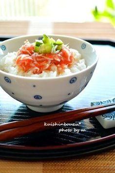 ◆しらす明太子(たらこ)の卵かけご飯◆ by 食いしんぼうず ...