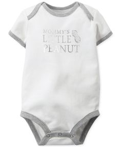 Carter\'s Baby Boys\' Little Peanut Bodysuit - Kids & Baby - Macy\'s