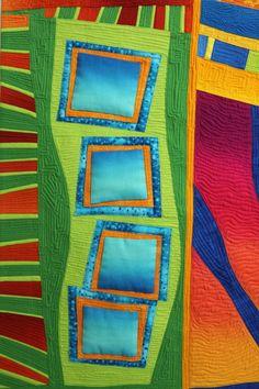 Sheila Frampton Cooper - Quilts - Quilts - Sunset Cinema