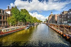 Travel, Amsterdam Canal Sunny Summer Water Dutch A Amsterdam Canals, Amsterdam City, Amsterdam Travel, Amsterdam Netherlands, Heraklion, Paphos, Thessaloniki, Turin, Dubrovnik
