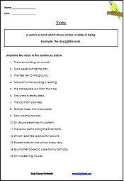 4th Grade Verb Worksheets | GRADE 4 English | Pinterest | Worksheets