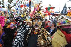 Carnavalier au Carnaval de Dunkerque