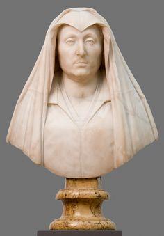 """Bust of Camilla Barbadori, mother of Pope Urban VIII Barberini"" Gian Lorenzo Bernini - Artwork on USEUM Renaissance, Creative Commons Photos, Gian Lorenzo Bernini, Baroque Art, Thing 1, Head & Shoulders, Vintage Artwork, Sculpture Art, Sculptures"