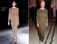 Cate Blanchett In Givenchy – Harper's Bazaar Woman Of The Year Awards 2013. Get the dress for $4,550 at http://www.luisaviaroma.com/index.aspx?#ItemSrv.ashx SeasonId=59I&CollectionId=D19&ItemId=35&VendorColorId=MjMw&SeasonMemoCode=actual&GenderMemoCode=women&Language=&CountryId=&SubLineMemoCode=&CategoryId=0&ItemResponse=&MenuResponse=&SizeChart=false&ItemTag=true&NoContext=false