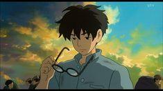 Aesthetic Art, Aesthetic Anime, Aesthetic Pictures, Studio Ghibli Art, Studio Ghibli Movies, Manga Art, Anime Manga, Anime Art, Jiro Horikoshi