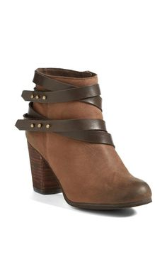 Last pair of shoes I got at the anniversary sale. Gotta love Nordstrom! BP. 'Train' Wrap Belted Bootie #Nordstrom #nsale