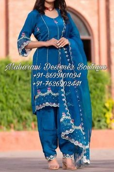 💙 Buy Designer Punjabi Suits Online Canada, Maharani Designer Boutique 👉 CALL US : + 91-86991- 01094 / +91-7626902441 or Whatsapp --------------------------------------------------- #shararasuit #designersuits #punjabiwedding #punjabisuits #boutique #boutiqueshopping #designersuits #trending #punjabisuit2021 #shararaset #shararadesign #shararasharara #wedmegood #bridal #usa #uk #australia #brampton #ontario #california #surrey #womenwear #newzealand #newyork Punjabi Salwar Suits, Designer Punjabi Suits, Latest Salwar Suits, Boutique Suits, Fashion Boutique, Salwar Suit With Price, Sharara Designs, Salwar Kameez Online Shopping, Pantsuits For Women