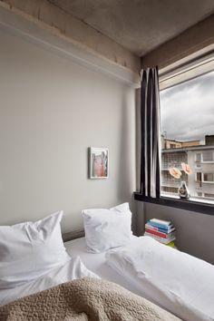 Wallyard Concept Hostel Hostel, Berlin, Concept, Curtains, Bed, Furniture, Home Decor, Blinds, Stream Bed