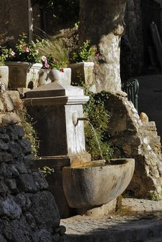 French style fountain!