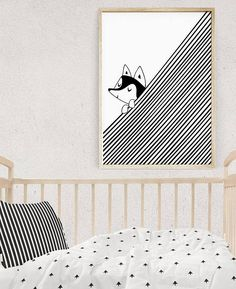 Curious Creatures bring a special touch to your kids room decor. This is a digital file, ready for instant download. It can be printed on your own computer, by your local print/photo shop,or have it printed online. Keep in mind - a quality matte paper will often hold finer detail than a