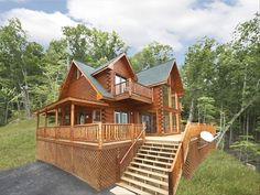 Cabin vacation rental in Gatlinburg from VRBO.com! #vacation #rental #travel #vrbo