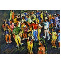 Telles,Sérgio  (1936, Rio de Janeiro, RJ) 60 x 80 o.s.t. Samba, São Paulo 2007. Pintor e diplomata. Estudou na Colméia dos Pintores do Brasil (Quinta da Boa Vista) e na Escola Nacional de Belas Artes,   Paiva Frade , leilão de férias  23 de julho às 21:30 hs  www.iarremate.com  #paivafrade #leilão #leilaodearte #leilaoonline #auction #bid #remates #decor #art #arte #tecnicamista #krajcberg #natureza #iarremate #luxury #fineart #ferias #sergiotelles #samba #riodejaneiro #vacation #hollidays