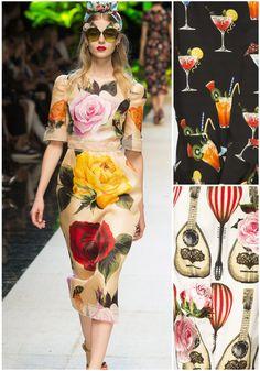 Spring/Summer 2017 Milan Fashion Week – Print Highlight: Dolce & Gabbana