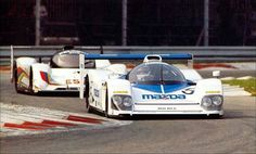 Mazda MXR-01 and Peugeot 905 Monza 1992.