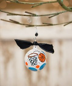 Love this Basketball Personalized Ornament on #zulily! #zulilyfinds