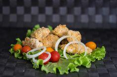 We like chiken nuggets for lunch so much!  #nuggets #kitchen #food #tasty #yummy #meat #lunch #vegetable #petsandthekitchen #allpetsgotokitchen