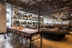 DROPBOX CAFETERIA | AvroKo | A Design and Concept Firm