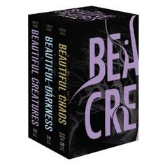 The Beautiful Creatures Collection.  Love these books! Kind of a southern gothic romance for teens, with a touch of magic thrown in for good measure.
