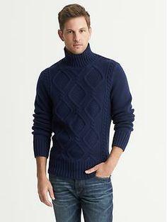 Men\u0027s Turtlenecks, Men\u0027s Sweaters, Knit Wear, Cable Knitting, Knitting  Designs, Turtle Neck, Man Style, Men\u0027s Clothing, Aw 2014, Men\u0027s Apparel,