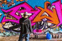 Graffiti WIP at Leake Street Tunnel,London, UK