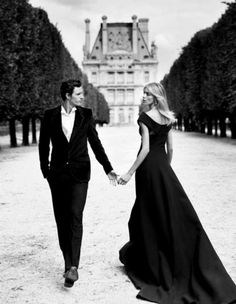 I think I want to get married in black