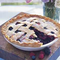 Get the recipe for Deep-Dish Bumbleberry Pie.