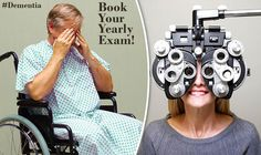 New study found that early signs of #dementia can be detected from an eye exam. #Typesofdementia