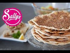 ▶ Lahmacun Rezept - türkische Pizza / einfach & lecker - YouTube