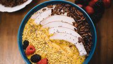 Bolo delícia de frutas   Receitas   Receitas Blueberries, Paella, 20 Min, Chocolate, Coco, Hummus, Acai Bowl, Breakfast, Ethnic Recipes