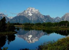 Mount Moran reflected in the Snake River at Oxbow Bend, Grand Teton National Park (Michael Traufler)