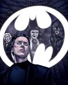 """Editorial illustration for the article """"Batman Returns: None More Burton"""" for the September 2016 issue of Birth. Dc Comics, Marvel Comics Superheroes, Batman Comics, Marvel Characters, Batman 1966, Batman Art, Batman And Superman, Spiderman Art, Tim Burton Batman"""