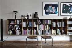 T.D.C: Low Level Bookshelves | photo from Alvhem Mäkleri, Sweden