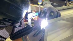 T.I.G. welding a Rachiele Stainless Sink Stainless Steel Sinks, Welding, Soldering, Stainless Steel Kitchen Sinks, Smaw Welding
